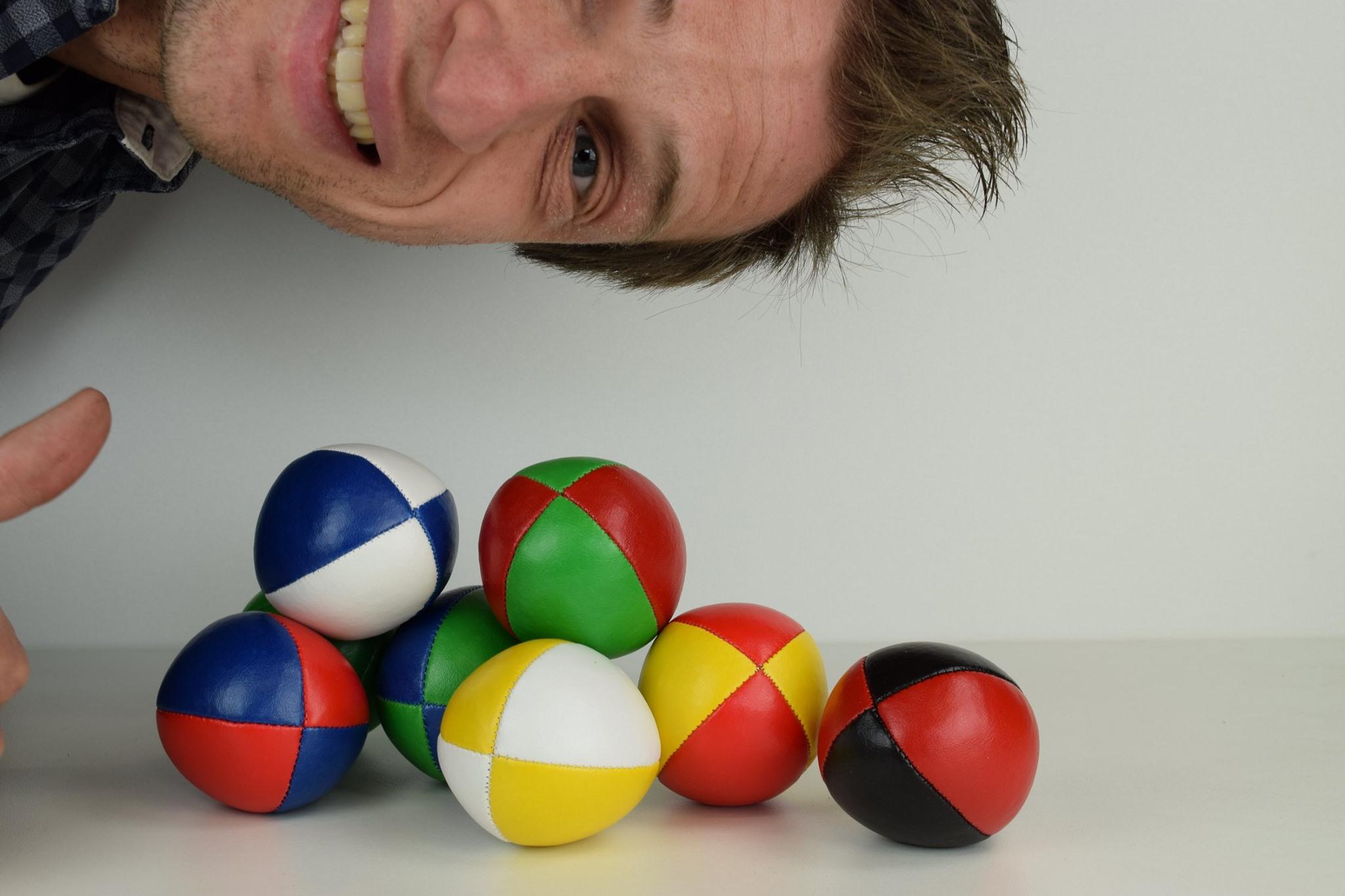 Hier moet je op letten bij het kopen van jongleerballen