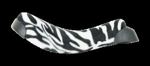 Qu-ax Eenwielerzadel Luxus Zebra