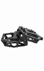 QU-AX Cross Pedalen aluminium zwart