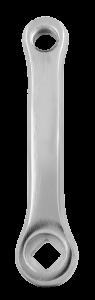 Qu-ax Vierkant Cranks staal