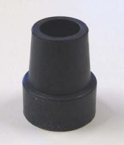 Zwarte rubberen stop 28 mm (voor de oranje en rode Actoy stelten) Per stuk