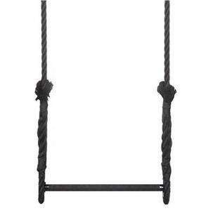 Trapeze 60 cm zwart 2,5 meter touw