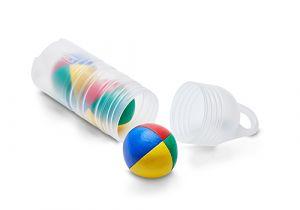 Set van 3 Henrys Stretch jongleerballen in een koker