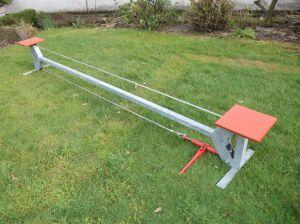 Koorddansinstallatie 3 meter - 40 cm hoog - Deelbaar