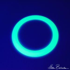 Mr. Babache Jongleerring standaard 32 cm glow in the dark