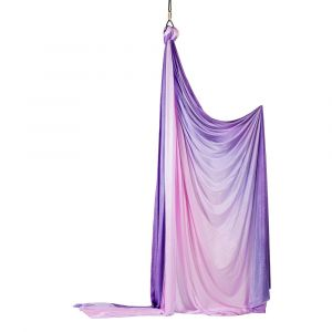 Prodigy Tissue - Aerial Silk - Akrobatiekgordijn paars/roze