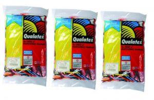 Qualatex - 3 Zakken Q260 Modelleerballonnen