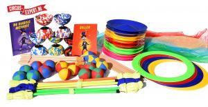 Circuspakket voor Scholen - Medium - 50 Personen