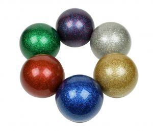 Glitter Stage bal 100 mm