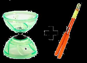 Taibolo Glary Diabolo Fiber Set