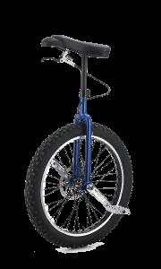 Kris Holm Mountain eenwieler 24 inch met rem