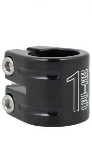 Qu-ax Dubbele Zadelklem 28,6 mm voor een 25,4 mm zadelpen